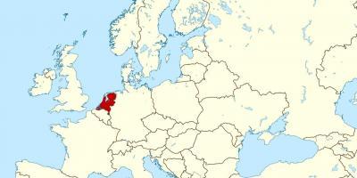 Carte Europe Pays Bas.Pays Bas Hollande De La Carte Cartes Pays Bas